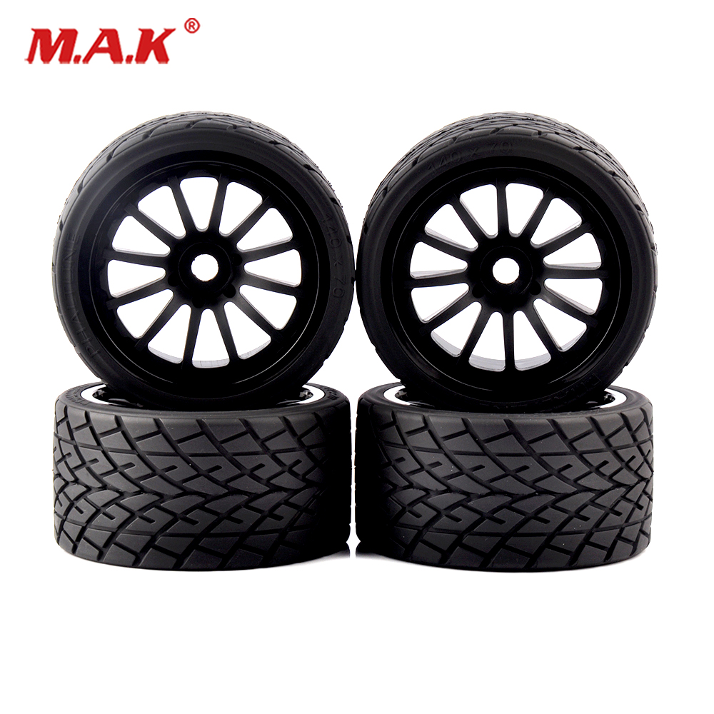 <font><b>1/8</b></font> On-Road Bigfoot <font><b>Wheels</b></font> Tires & Rims <font><b>17mm</b></font> Hex 4pcs/set for 1:8 <font><b>RC</b></font> Model On-Road Car 26412 image