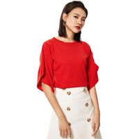 2018 Autumn Women Pullover Cashmere Wool Sweater Knitted Elegant Ruffled Sweter Half Sleeve Shirt Jumper Mujer Summer Top Female