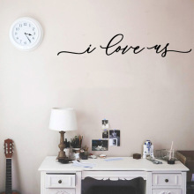 Family I love you Wall Stickers Decorative Sticker Home Decor vinyl Background Art Decal