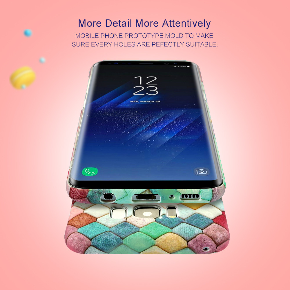 KISSCASE Fish Scale Luminous Case For Samsung Galaxy S9 S8 S10 Plus Note 10 Phone Case For Samsung A70 A50 A30 A5 2017 A7 2018