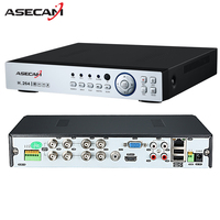 New 8CH 16CH AHD DVR 1080N 12fps CCTV Video Recorder Camera Network Onvif Channel IP NVR