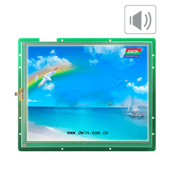 DMT80600T104_04W DMT80600T104_04WN 10.4 inch Divin DGUS industrial industrial serial port screen touch screen voice screen