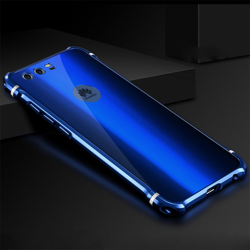 Huawei P10 plus case Luxury Aluminum alloy metal frame + Acrylic back cover for Huawei P10 cases