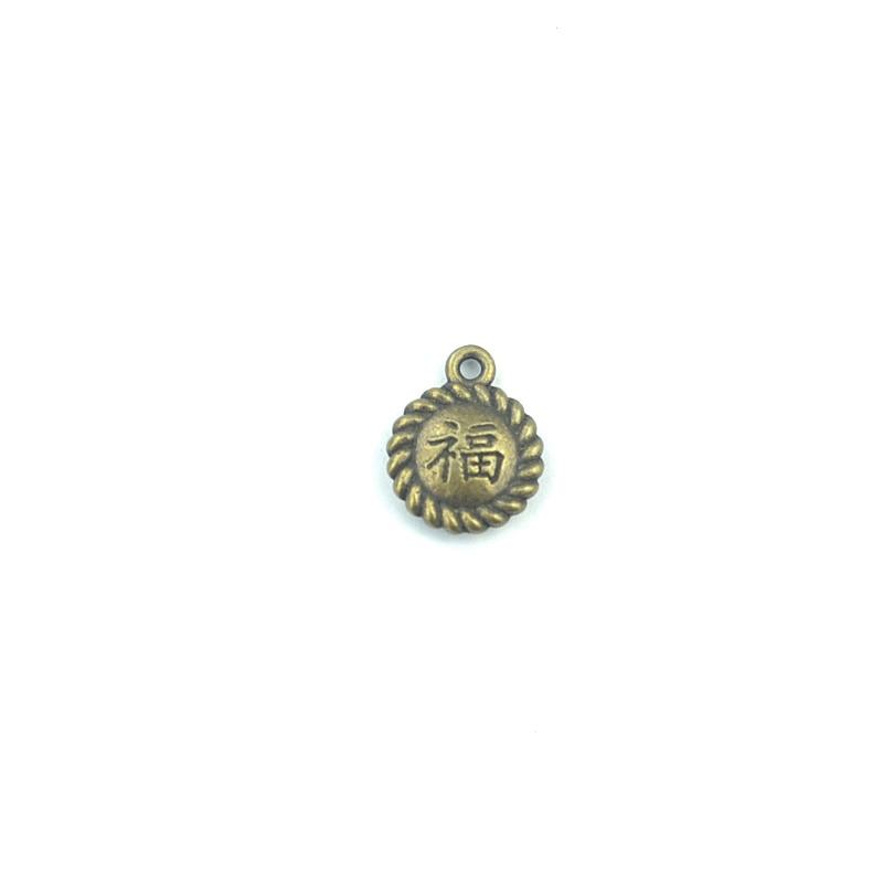 dc9ae797d 80 unids/lote aleación del bronce del metal de la antigüedad del encanto la  palabra bendición pulsera para la joyería DIY D40214