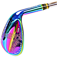 2016 New Golf Club SM6 Wedges Right Handed Steel 3 Color 52 56 60 Three Pcs