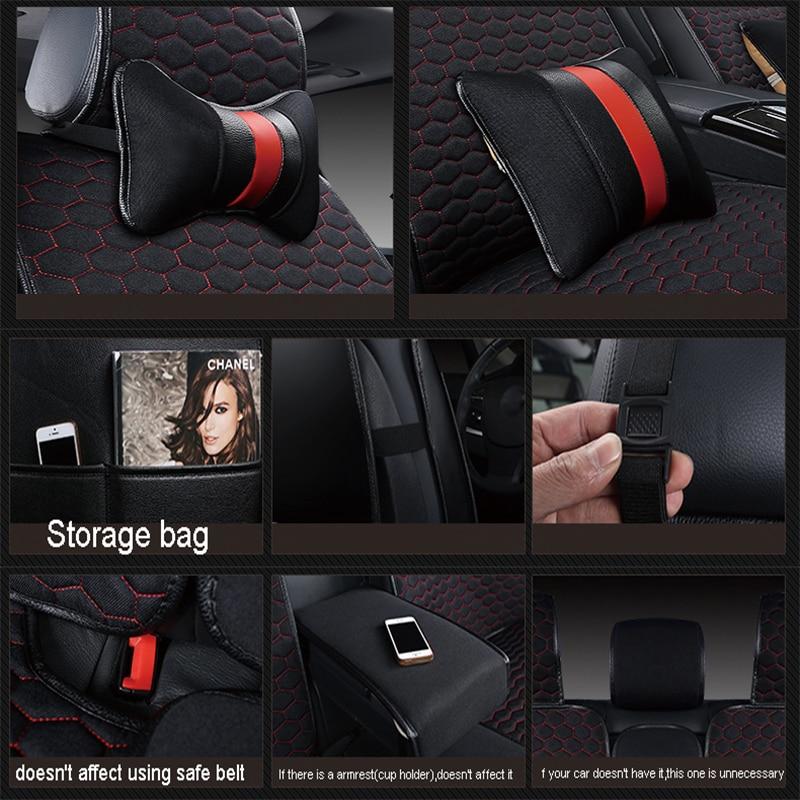 Car Seat Cover Covers For Kia Borrego K3 K5 K7 Kx3 Kx5 Kx7 2017 2016 2015 2014 2013 2012 2011 2010 2009 2008 2007 2006 In Automobiles From