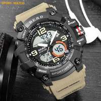 2019 Lxury Brand Fashion Watch Men G Style Waterproof Sports Military Watches Shock Resistant LED Digital Sports Watches Men