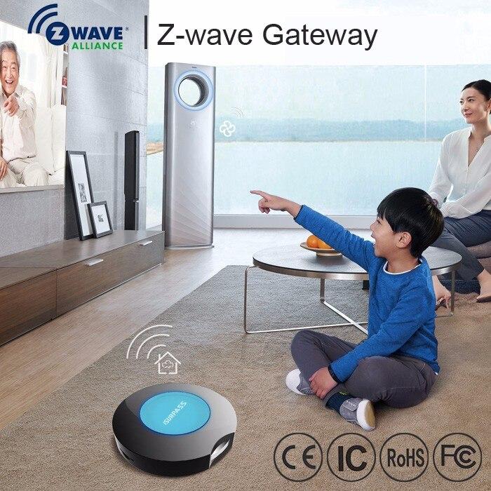 EU868.42MHz draadloze Z wave Gateway Hub Center Controller Ondersteuning WiFi type APP afstandsbediening ingebouwde backup batterij-in Domotica van Veiligheid en bescherming op AliExpress - 11.11_Dubbel 11Vrijgezellendag 1