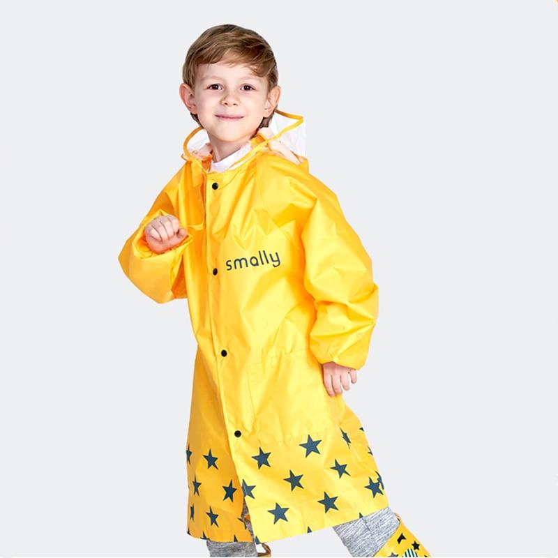 Kocotree Crianças Capa De Chuva As Crianças Bonito casaco Capa de Chuva Poncho Capa De Chuva Infantil À Prova D' Água Criança Impermeáveis Com Capuz Impermeável