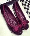 Новое прибытие женская обувь мода Квартиры обувь 2A 3B 268-2 большой размер обуви Женщины квартиры удобные плоские туфли
