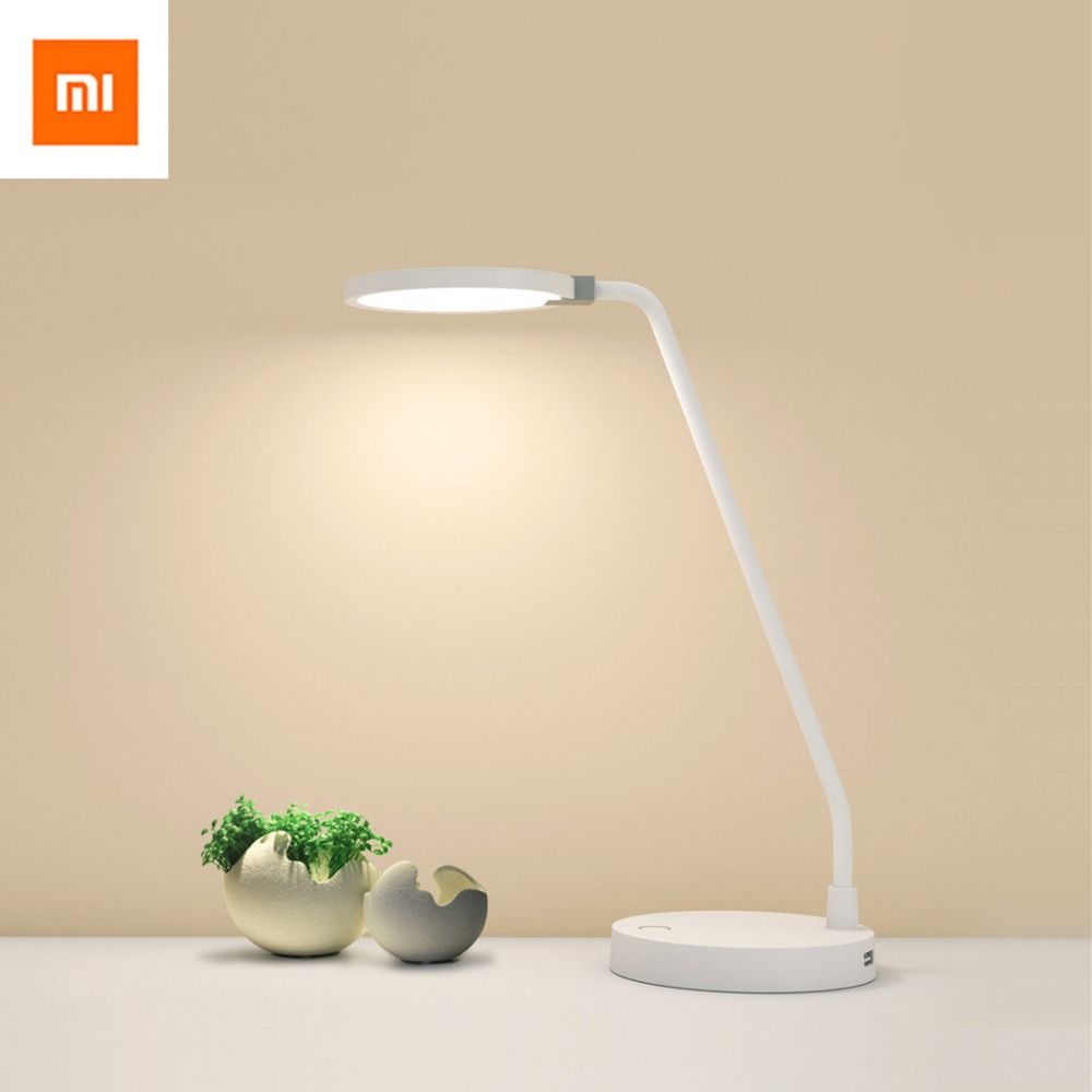 2018 Original Xiaomi Yeelight mijia COOWOO LED Desk Lamp Smart Table Lamps Desklight No Support Mi home app Smart home kit women bridal evening clutch bag wedding bridal clutches bag handmade small women bag party evening bags purse pink gold red lady
