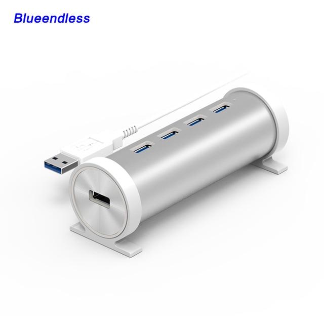 5 GBPS de Alta Velocidad de 4 Puertos USB 3.0 HUB Con interruptor On/Off Switch Hub USB Para Ordenador Portátil de Escritorio de LA UE el Envío Gratuito # H4U3