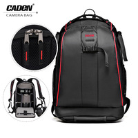 CADEN K7 New Style SLR Camera Backpack Large Capacity Travelling Camera Bag Waterproof Anti Theif Digital