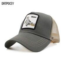 Venta caliente gorra de béisbol de los hombres y las mujeres de malla  transpirable tapas Unisex sombrero del Snapback bordado an. 5055995c5cf