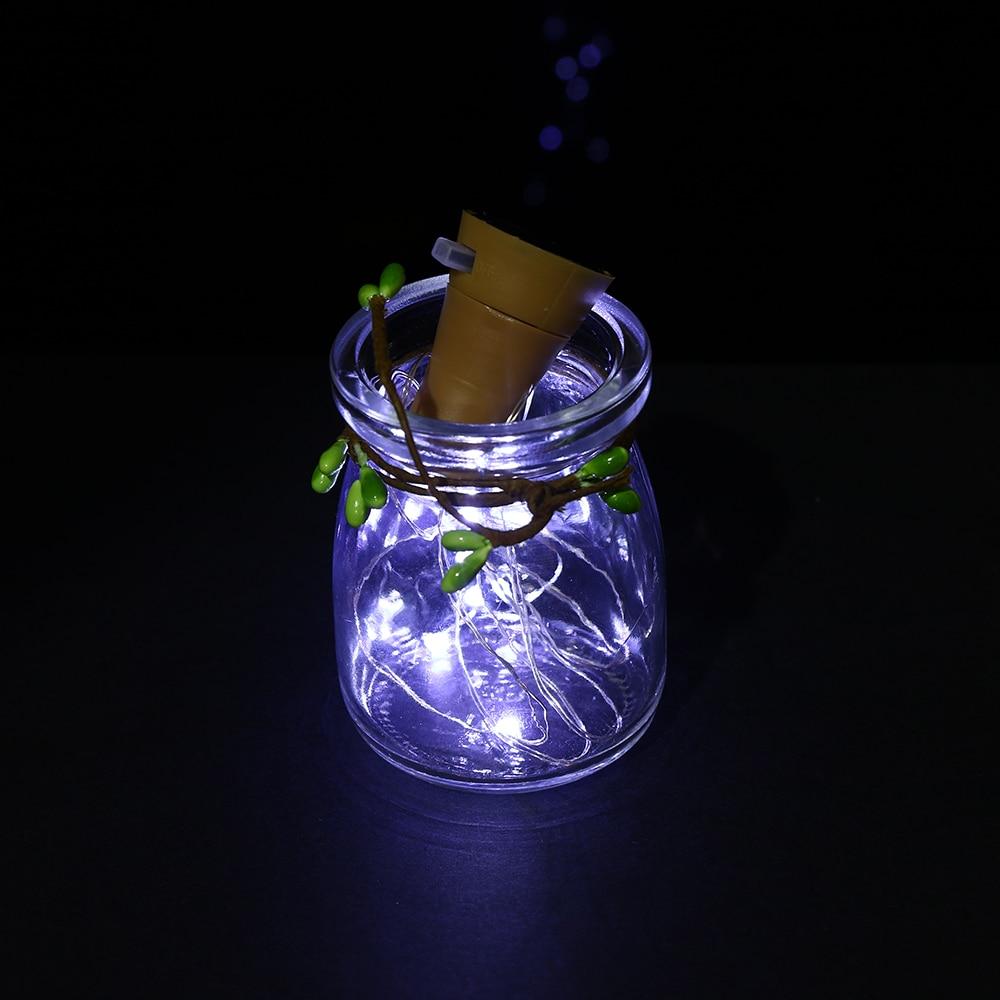 online shop 1 pc home garden decor led solar light wine bottle