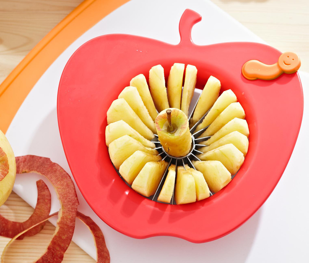 20 Flap Stainless Steel Apple Slicer and Corer Apple peeler Fruit and Cut to the Core Valve Device Apple Pie Necessary