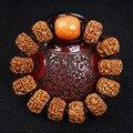 Изысканный Непал Пять Лепестков Рудракши Браслет Чисто Ручное Ткачество Оригинальный DIY Браслеты Оптом Мужчин И Женщин Подарок