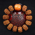 Exquisite Nepal Five Petal Rudraksha Beads Bracelet Pure Manual Weaving Original DIY Bracelets Wholesale Men And Women'S Gift