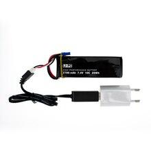 H501S 7.4 V 2700 mah lipo batterie 10C Batteies 1 pcs et chargeur pour Hubsan H501C rc Quadcopter Avion drone pièces