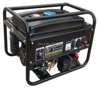 Free Shipping Portable Generator 3500 2 5kw 168FE GX200 Electric Starting OHV 6 5hp Single Phase