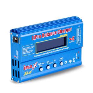 Image 3 - Imax B6 12vバッテリー充電器80ワットliproバランス充電器ニッケル水素リチウムイオンni cdデジタルrc充電器12v 6A電源アダプタ充電器 (無plu