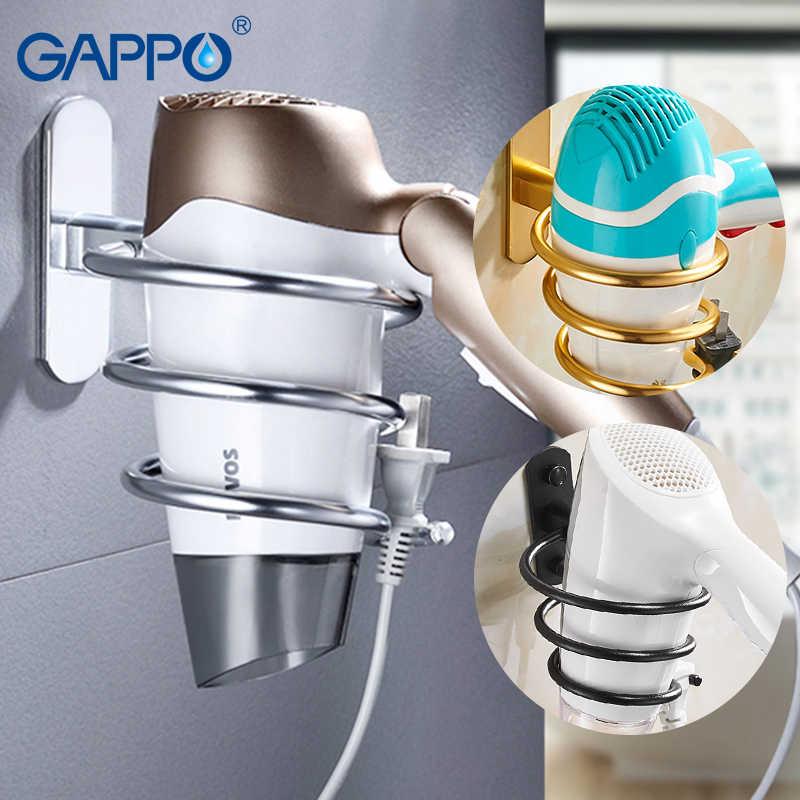 Gappo 욕실 선반 벽 마운트 목욕 홀더 랙 목욕 하드웨어 액세서리 욕실 교수형 스토리지 랙