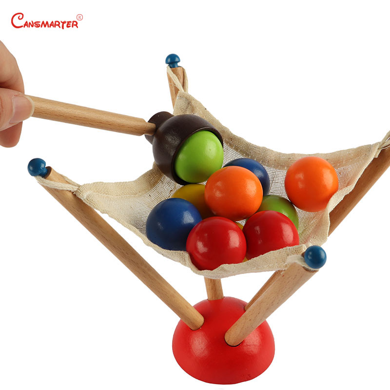 Infants Toddlers Balance Exercises Toys Educational 2 Years Baby Montessori Learning Preschool Grab Balls Games And LT057-3