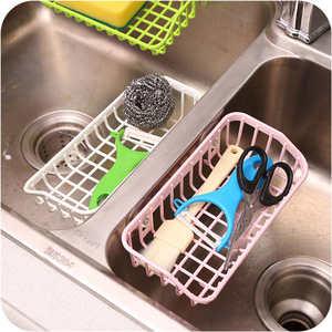 Image 3 - Kuchnia drenażu do przechowywania wieszak na ręczniki płyta spustowy stojak na uchwyt na naczynia kuchnia łazienka zastawa stołowa zlew naczynia do przechowywania półka uchwyt Rack