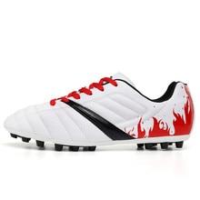 Для мужчин детская Футбол Обувь; сапоги Открытый Обучение Футбол сапоги кроссовки унисекс Обувь для футбола Zapatos De Futbol