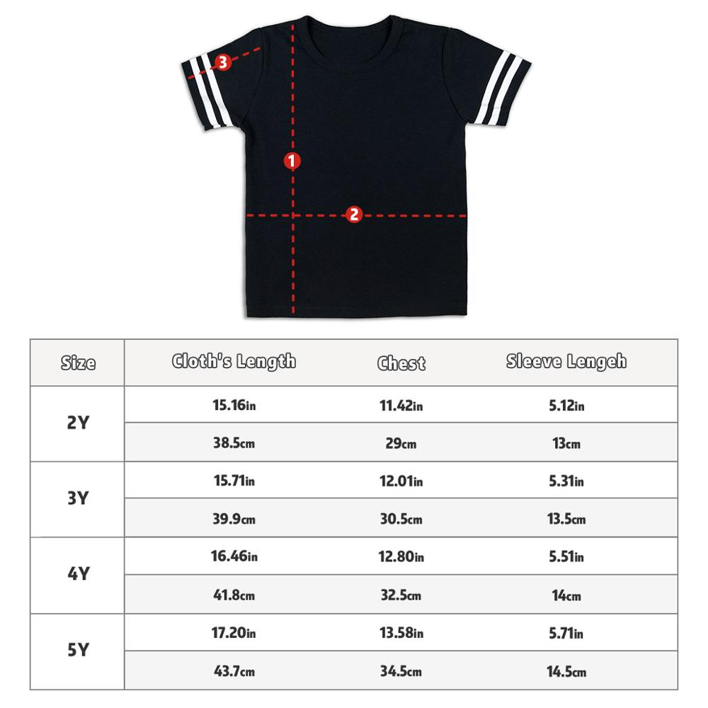 Image 5 - Kid T Shirt Personal Customize Football Sport Jersey Solid Summer Short Sleeve Casual Tees Baby Girl Boy Toddler Tops Clothing-in T-Shirts from Mother & Kids