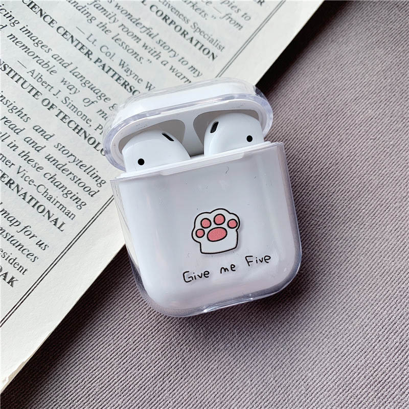 Image 4 - Cute Case For Apple AirPods Case Cartoon Bluetooth Earphone Protective Hard Cover For Air pods headphones case box For airpod 2-in Earphone Accessories from Consumer Electronics