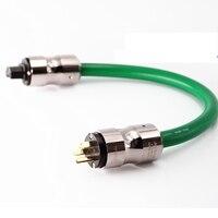 Hi End Mcintosh 2328 power line HIFI POWER CABLE AC Power Cord with EU/US Plug socket connector AC cable line