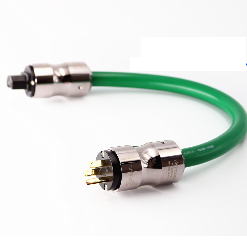 Hi-End <font><b>Mcintosh</b></font> <font><b>2328</b></font> power line HIFI POWER CABLE AC Power Cord with EU/US Plug socket connector AC cable line image