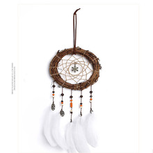 Dreamer hand made dream catcher pendant material package home handmade Indian jewelry gift garden ornaments