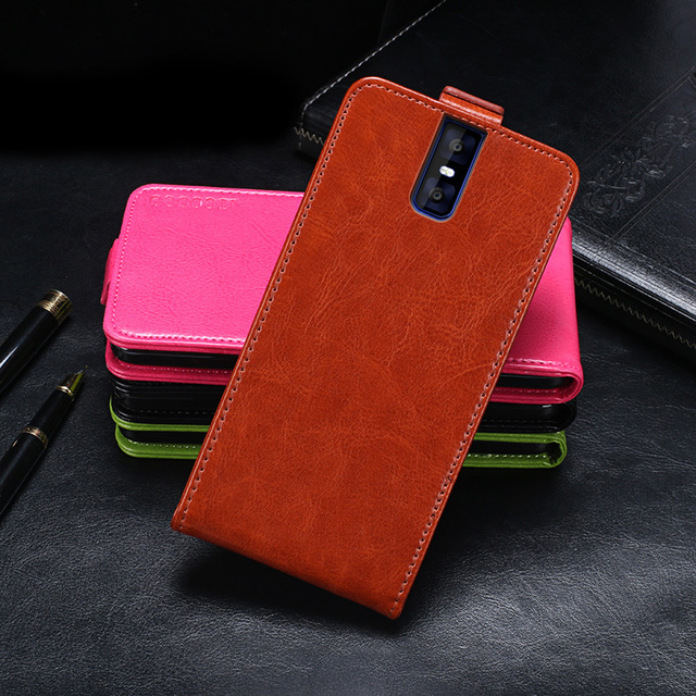 Itgoogo For Oukitel K3 Case Cover Hight Quality Flip Leather Protective Case For Oukitel K3 Cover Business Style Phone bag