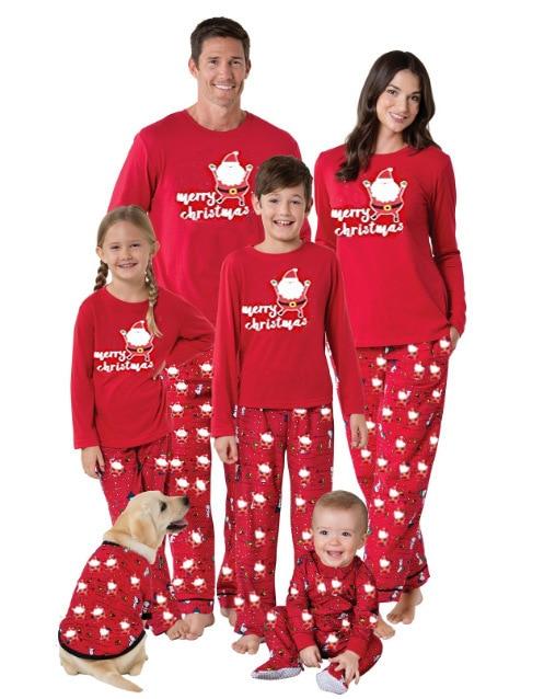 nuovo concetto 31346 19fca US $12.0  Pigiami di natale per le coppie corrisponde padre figlio mamma  madre e figlia corrispondenza abbigliamento famiglia imposta natale pigiama  ...