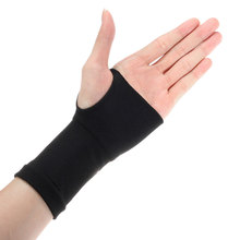 1pair Elastic Breathable Sports Safety Wrist Support Glove Strtchy Joint Brace Sleeve Sports Bandage Gym Protector