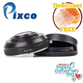 Poupa $2! Pixco Lente Anel Adaptador Reforço Velocidade Redutor Focal Terno Para canon ef lens para micro 4/3 m4/3 câmera gx7 e-m5 E-PL6