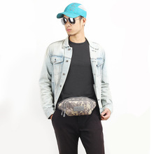 2018 Hot Waist bag for Men Casual Multifunctional Fanny Pack Bags Quality Male Waist Pack Bag Nylon Bum Camouflage Hip Bolsa Bag