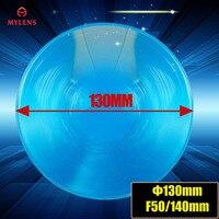 Diameter 130mm Focal length 50mm Fresnel Lens DIY TV Projection Solar Cooker,stage light fresnel lens ,LED light fresnel lens