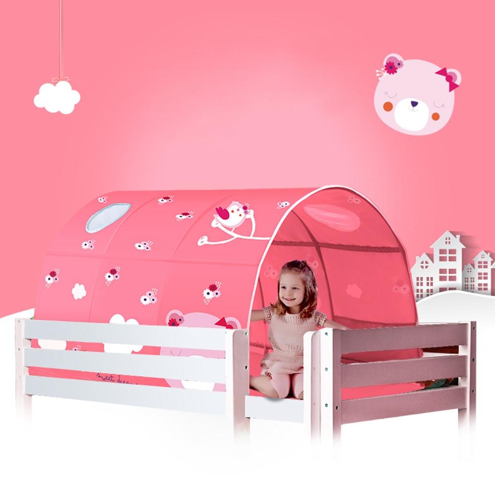 2 couleur bébé jouer jouet tente pour enfants chambre grand espace enfants Wigwam Portable intérieur extérieur toile tipi tente jouet bébé tente lit