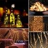 72ft 22M 200 LED Solar Strip Light Home Garden Copper Wire Light String Fairy Outdoor Solar Powered Christmas Party Decor promo