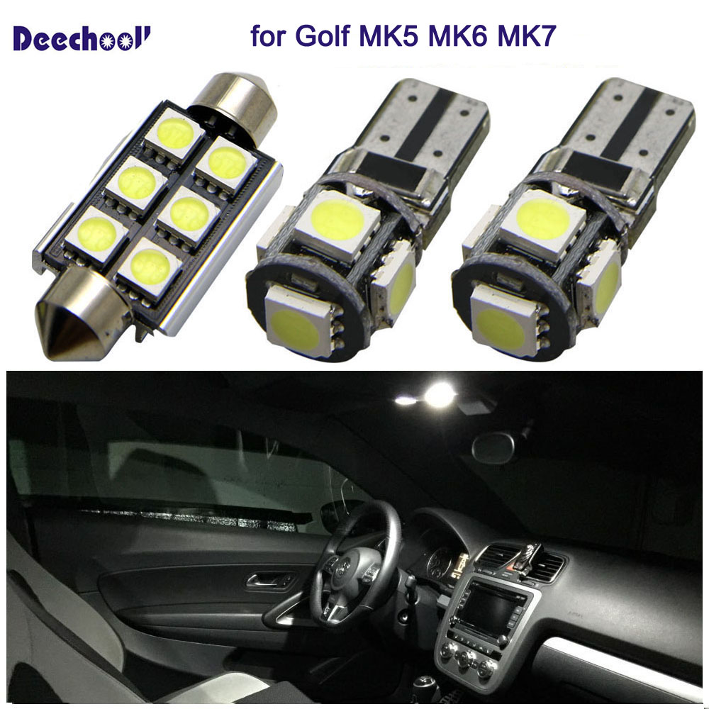 Interior//9 LEDs//Red//Car led H-Customs Interior lighting set LED SMD