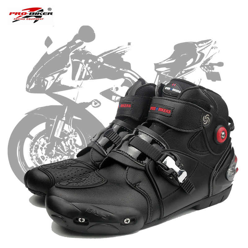 c228e963ff9ea2 Detail Feedback Questions about professional motorbike motorcycle boots  motocross racing boots waterproof biker protect ankle moto shoes A9003 on  ...