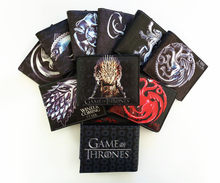 13 Type TV Series Game of Thrones Men Wallet Coin Purse Unisex Wallets ID/Credit Card Holder(China)