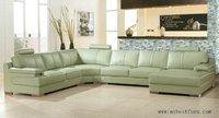 Large Size Leather Sofa Real Cow Leather Sofa Modern Design Furniture Living Room Sofa Set S8634