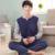 Nueva Llegada de Primavera y Otoño Pijama de Algodón de Los Hombres Del O-cuello Casual y De Moda de La Manga Completa Hombre Pijamas Plus tamaño XXXL