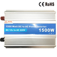 Efficiency 1500W 1000W Car Power Inverter 12V 220V Auto Vehicle Truck Power Adapter Voltage Converter DC