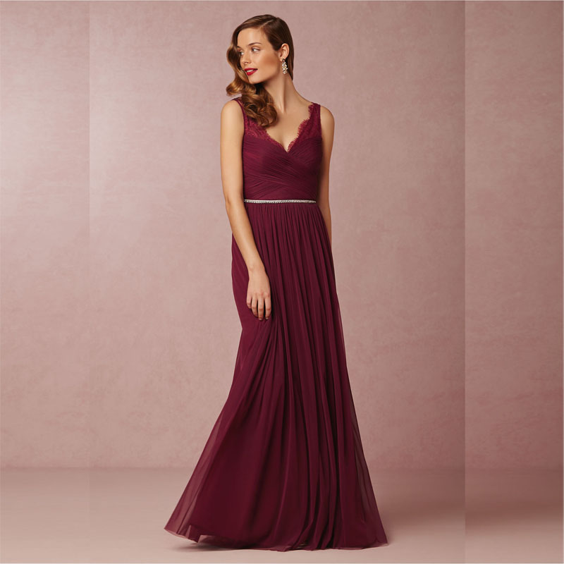 Compare Prices on Wine Bridesmaid Dresses- Online Shopping/Buy Low ...