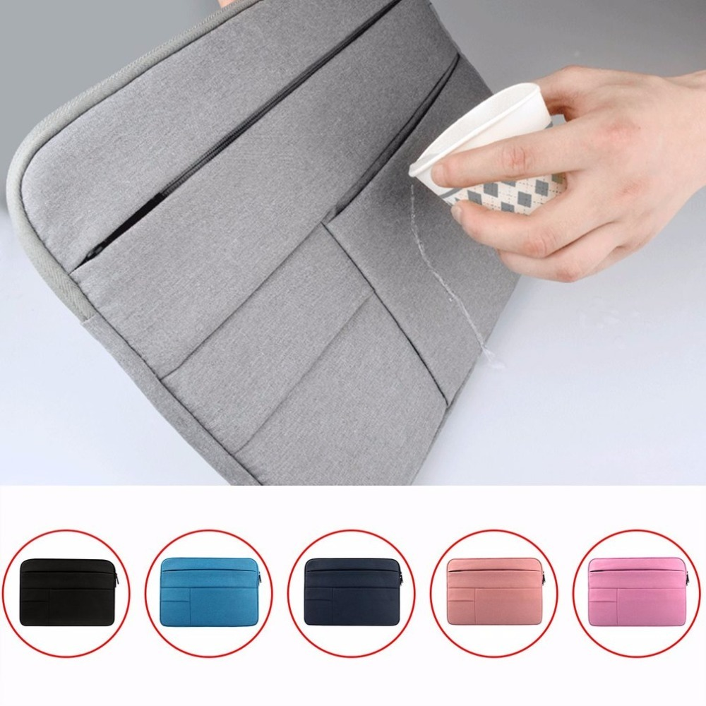 2018 waterproof Laptop Bags Sleeve Notebook Case for Dell xiaomi Lenovo Macbook Air Retina Pro 11 12 12.5 13 14 15 15.6 inch bag notebook bag 12 13 3 15 6 inch for macbook air 13 case laptop case sleeve for macbook pro 13 pu leather women 14 inch